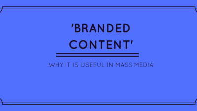 What is 'branded content'? 5 reasons to support it