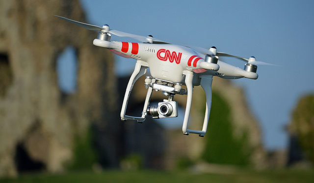 Drones and journalism: a trend in the media industry